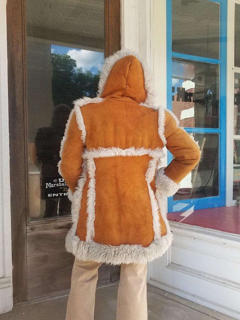 bdfa945ba80f5 Vintage 1970s 70s Lamb skin jacket coat shearling winter made | Etsy
