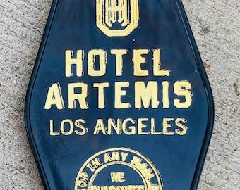 HOTEL ARTEMIS inspired keytag