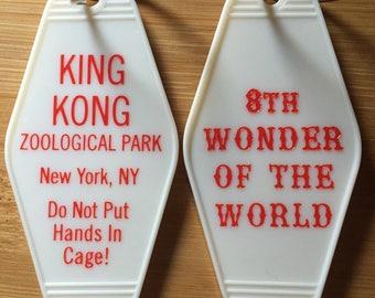 King Kong inspired keytag