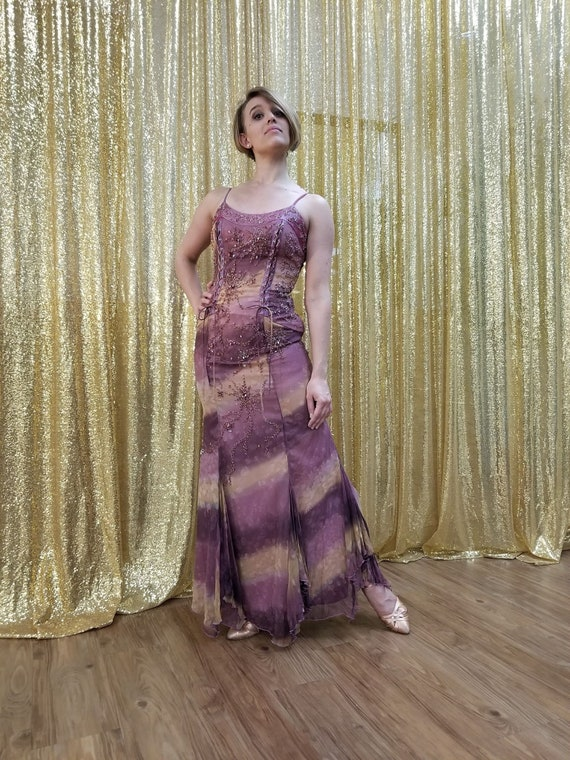 Enchanting Violet Fairy Gown