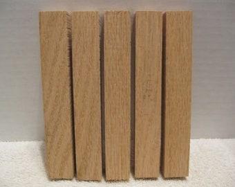 Tulipwood // Poplar woodturning pen blanks 18//20mm x 150mm Set of 20 very dry