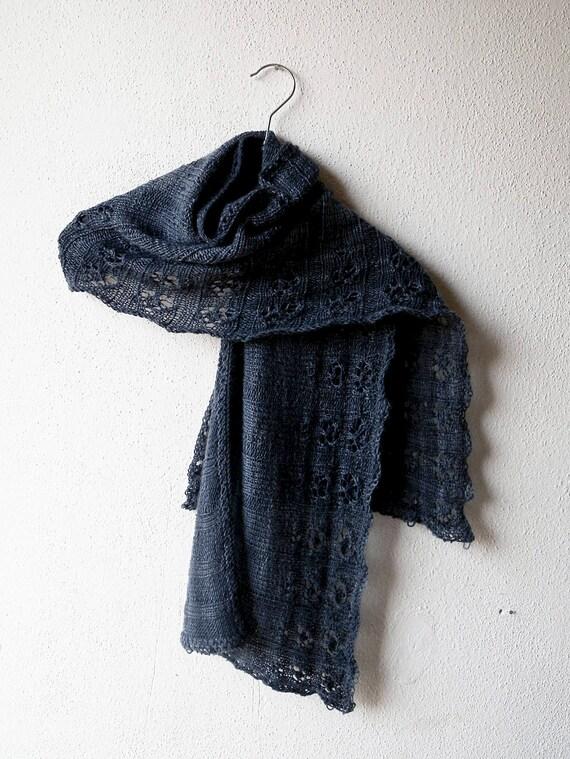 Lace Schal stricken-Muster Rechteck Stola Schultertuch für | Etsy