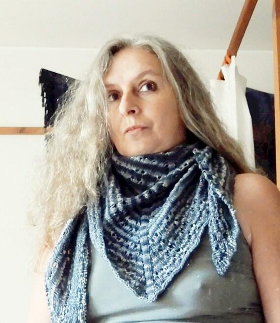 Strickanleitung Lacetuch aus Sockenwolle herbstliches Tuch in | Etsy