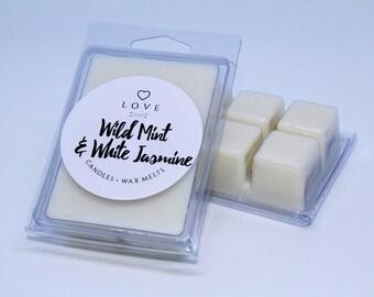 Luxury Wild Mint & White Jasmine Wax Melts