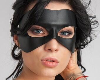 Masquerade leather  masks (unisex)