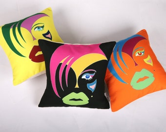 Modern Art Pillow Cover Limited Edition Complete Collection