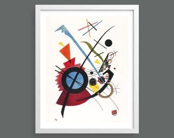 Violett by Kandinsky   Abstract modern art   Fine art Giclee print   Bauhaus   Vintage modernist wall decor