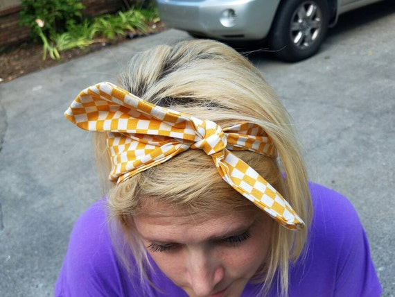UT Checkerboard Headband  04955158e4a