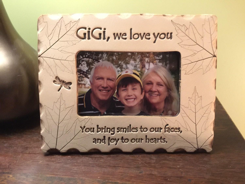 Gigi picture frame gigi we love you picture frame | Etsy
