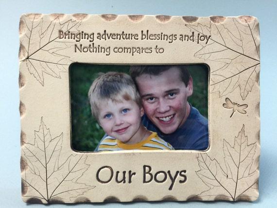 Our Boys Frame Family Frames Kids Frames Mom Frame Dad Etsy