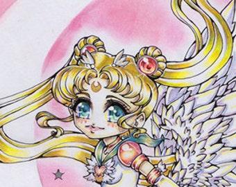 Eternal Sailor Moon - Chibi - Prints