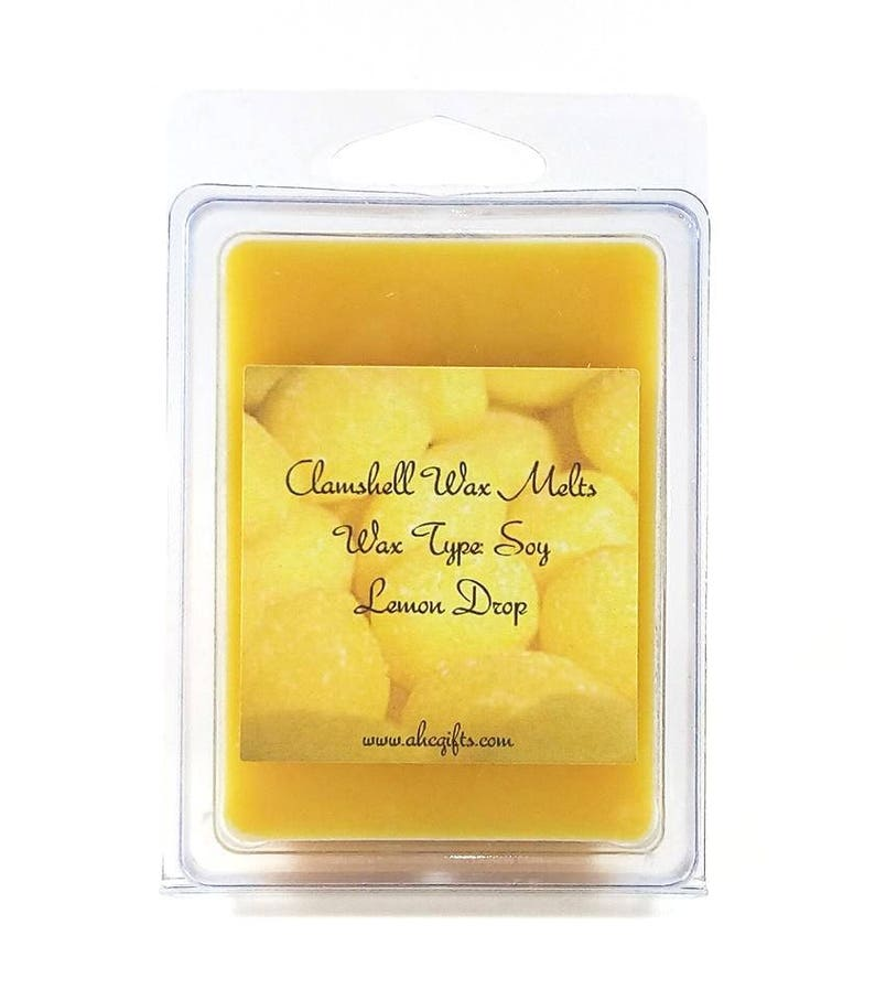 60+ Scents to choose from Soy Clamshell Tarts
