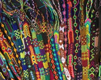 41132a8ec7f930 Hand Woven Friendship BRACELETS set of 6 friendship bracelets- Ankle  bracelet - FRIENDSHIP Gifts- Boho- Trendy-woven mexican bracelet-