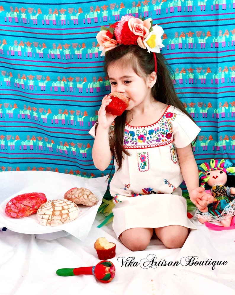 Mexican Birthday crown Frida Kahlo Crown Coco Headband Day of dead Mexican Flower Headband Handmade Catrina Mexican Party Fiesta Theme