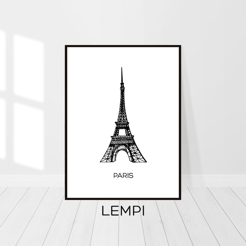picture relating to Printable Eiffel Tower identify Eiffel Tower Print, Eiffel Tower Decor, Paris Printable, Eiffel Tower Paris, Paris Print, French Decor, High Wall Artwork Printable Artwork