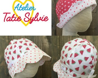 Reversible Retro love of Derby Hat
