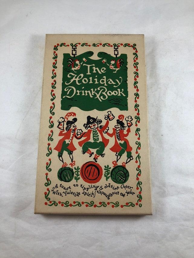 Holiday Drink Book Vintage Recipes Beverage Recipes | Etsy