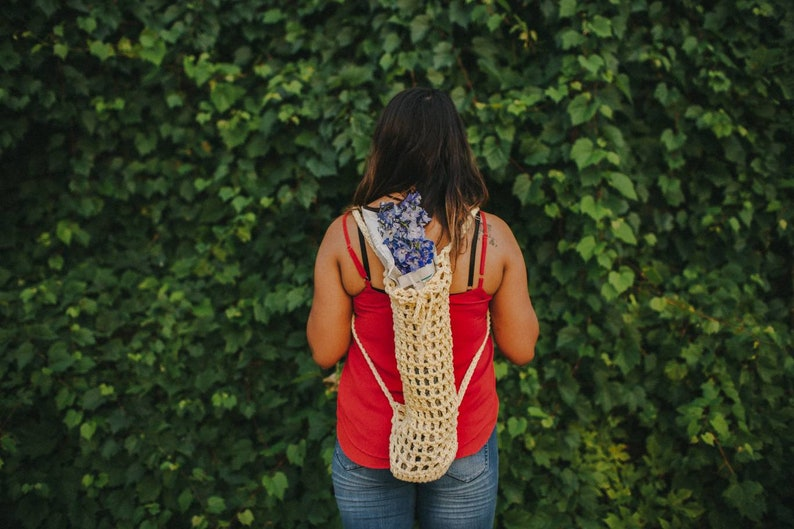 Crochet Bag Flower Tote Eco Bag Farmers Bag|Bag String Bag Reusable Grocery Bag Bouquet Flower Market Bag Farmers Market Bag