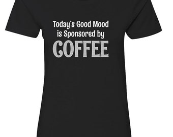 Sponsored By Coffee - Ladies Fitted