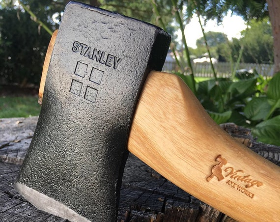 Vintage Stanley 4 Square Hatchet – Restored
