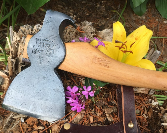 Featured listing image: Vintage Keen Kutter Hatchet – Restored