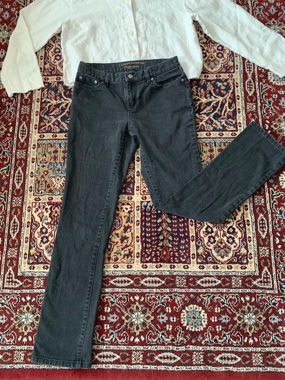 Vintage Ralph Lauren Black Mom Jeans