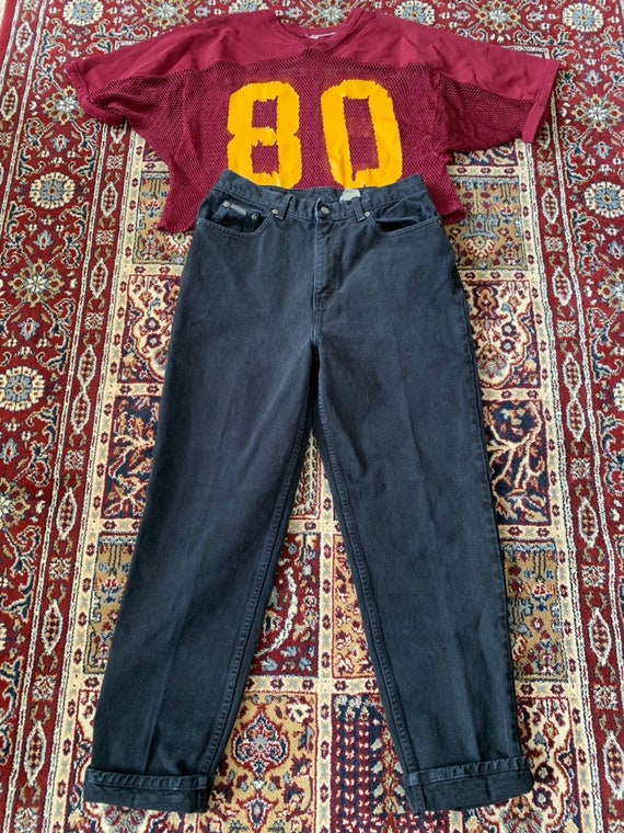 Vintage Calvin Klein Black Mom Jeans
