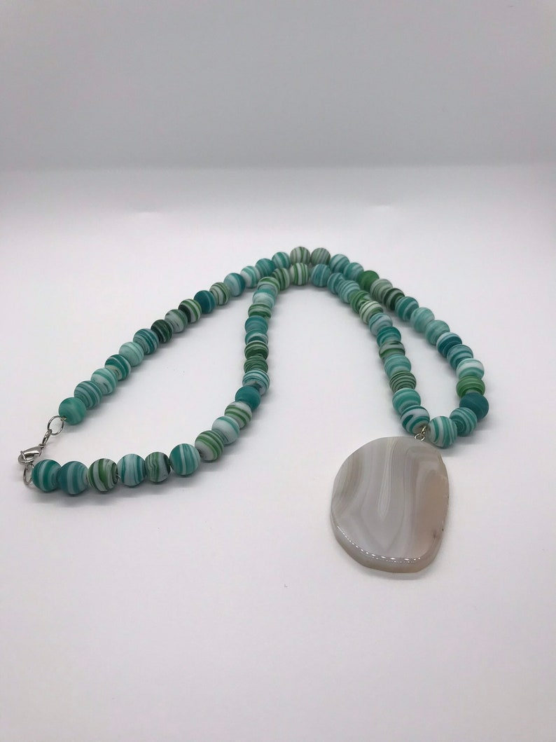 Tranquility Necklace and Earring Set