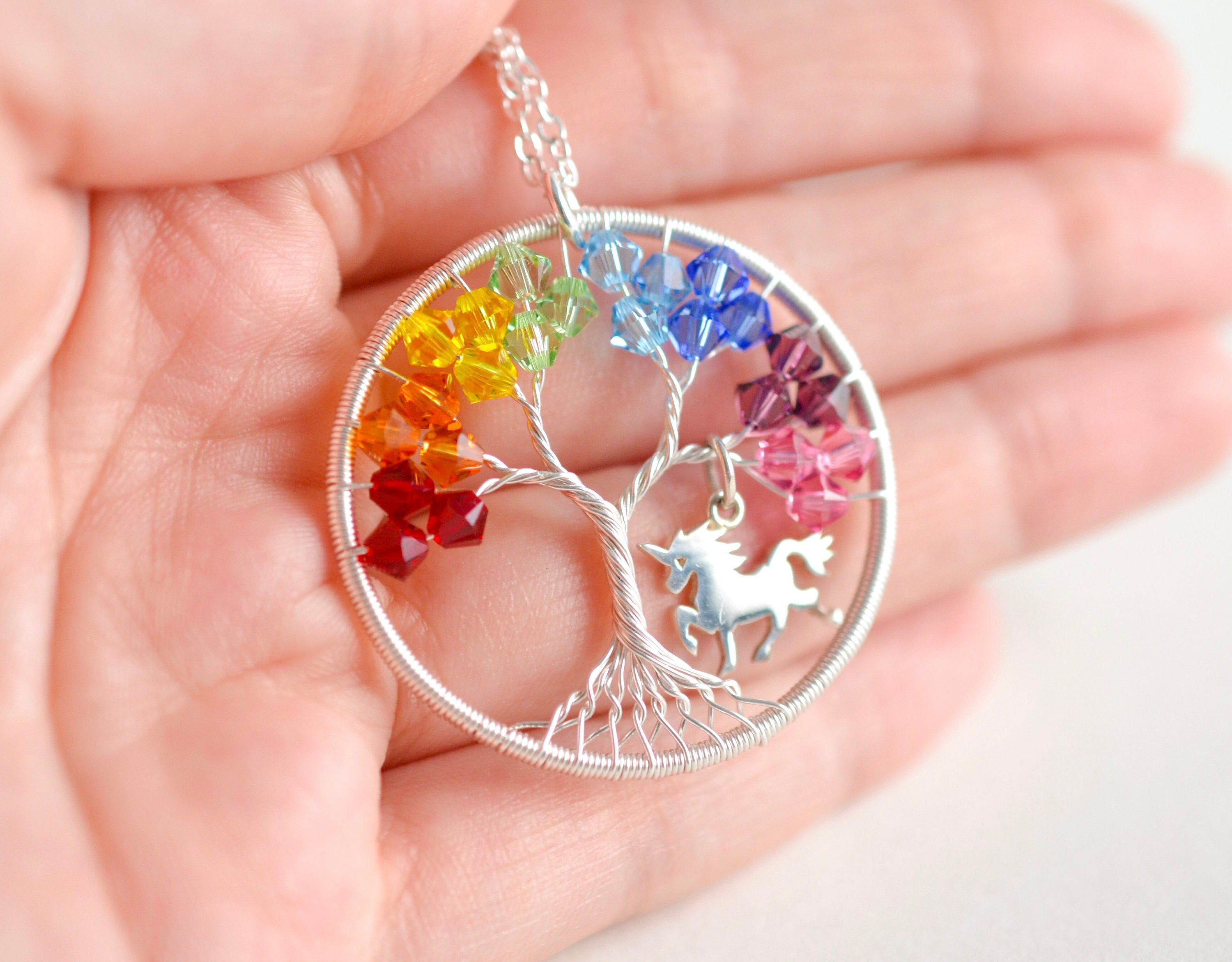Unicorn Necklace Chain Plated Silver Gift House Necklace Unicorn Necklace Magic