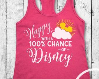 Happy with a 100% Chance of Disney Tank/Disney Tank/Disney Vacation Tank