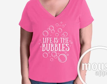 PLUS SIZE Life Is The Bubbles