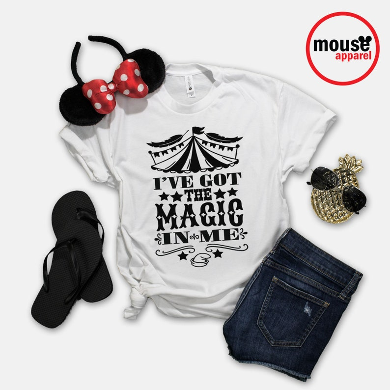 SHIPS NEXT DAY Dumbo Magic In Me Disney Shirt / Disney Dumbo image 0