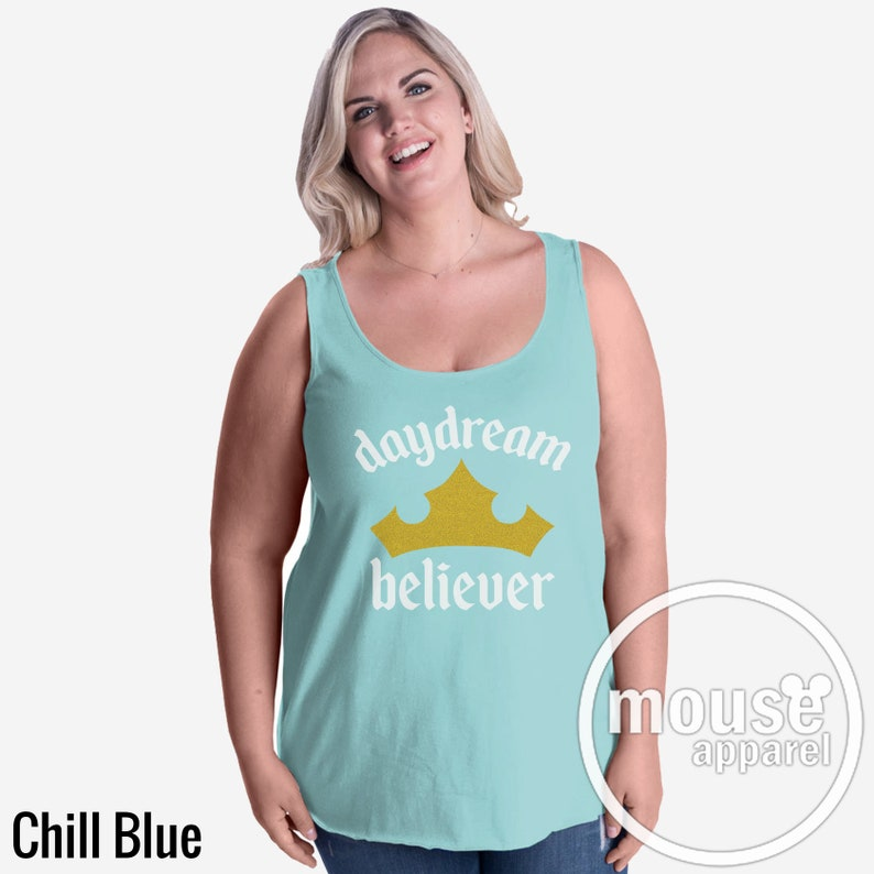 Plus Size Daydream Believer Sleeping Beauty Princess Aurora Chill Blue