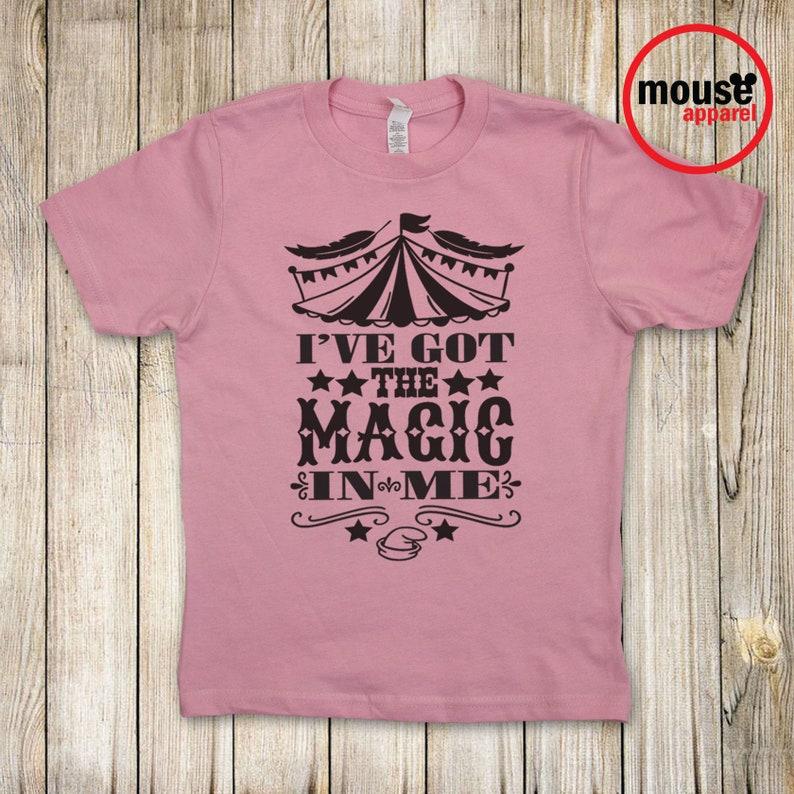 SHIPS NEXT DAY Dumbo Magic In Me Kids Shirt/Disney Dumbo Kids image 0