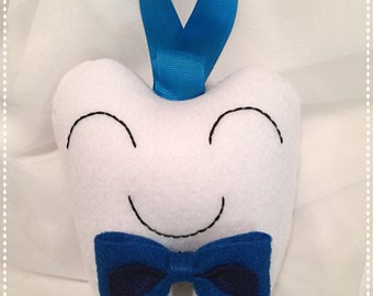 Bow Tie Toothfairy Pillow