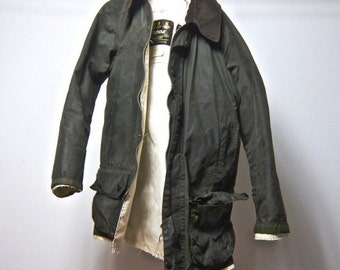 83707a106482d This creation is only one in the world. Mid 90's Vintage ALTERATION Barbour  Beaufort Jacket