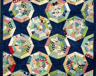 Ferris Wheel Quilt Pattern plus pillow