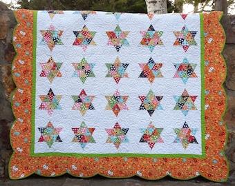 Vintage Stars Quilt Pattern