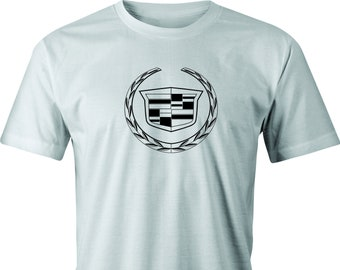 Cadillac drawing T shirt.  Free Shipping