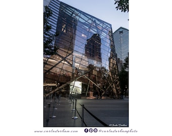 9/11 Memorial Museum New York City Digital Print, Instant Download | Architecture Photography, Printable Wall Art, Horizontal, Home Decor
