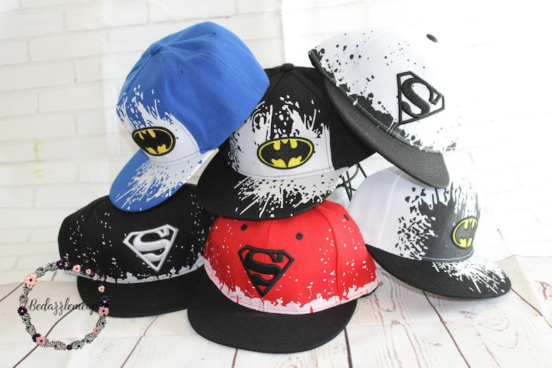 f5d4564d7eddf Super Hero Hats Baseball Hat Kids Hats Birthday Gift