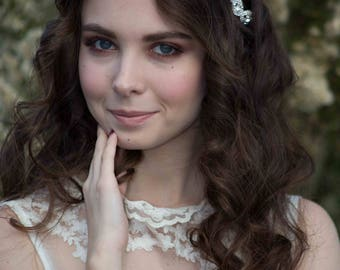 Flower Girl Headband - Rhinestone Headband - Flower Girl Headpiece - Bridal Headband - Hair Accessory - Wedding Headband - Bridal Hairpiece