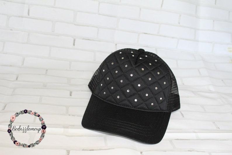 b5891fda0 Rhinestone Baseball Hats - Trucker Hats - Rhinestones Cap - Wedding Cap -  Women's Hat - Crystal Hat - Bling Hat - Wedding Accessories