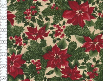 Fabric A Very Merry Christmas by Sentimental Studios for moda Pattern 15682.  Sold by the half yard.