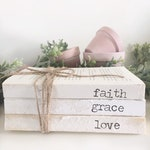 Personalized farmhouse books, Custom name books, monogram gift, perosnalize giftx personalized book, family name books, farmhouse style