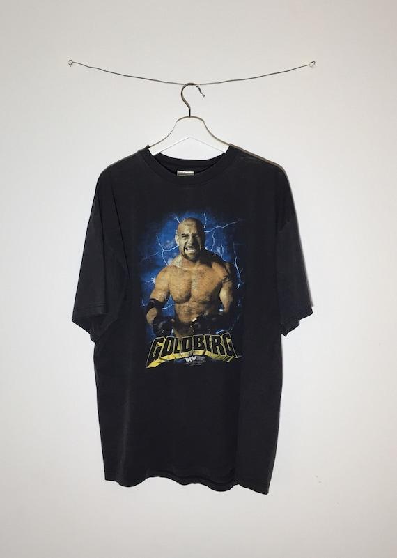 Goldberg WCW 1998 rare vintage tshirt - XL