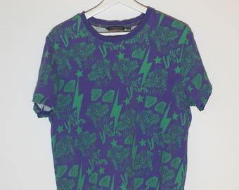 Kappa vintage print tshirt - XXL