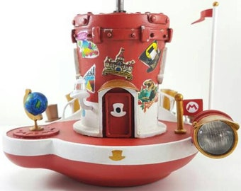 super mario odyssey ship toy