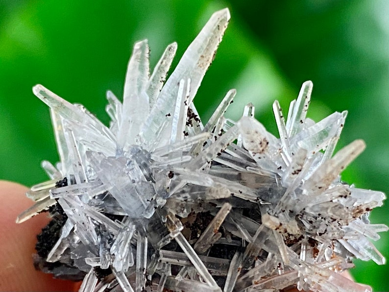 Specimen,Cluster,Natural Crystal,home decor,office decor,Collection,Stone Transparent Quartz Cluster from 9th September mine,Madan,Bulgaria