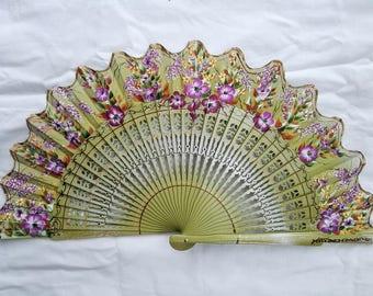 fan fan hand painted